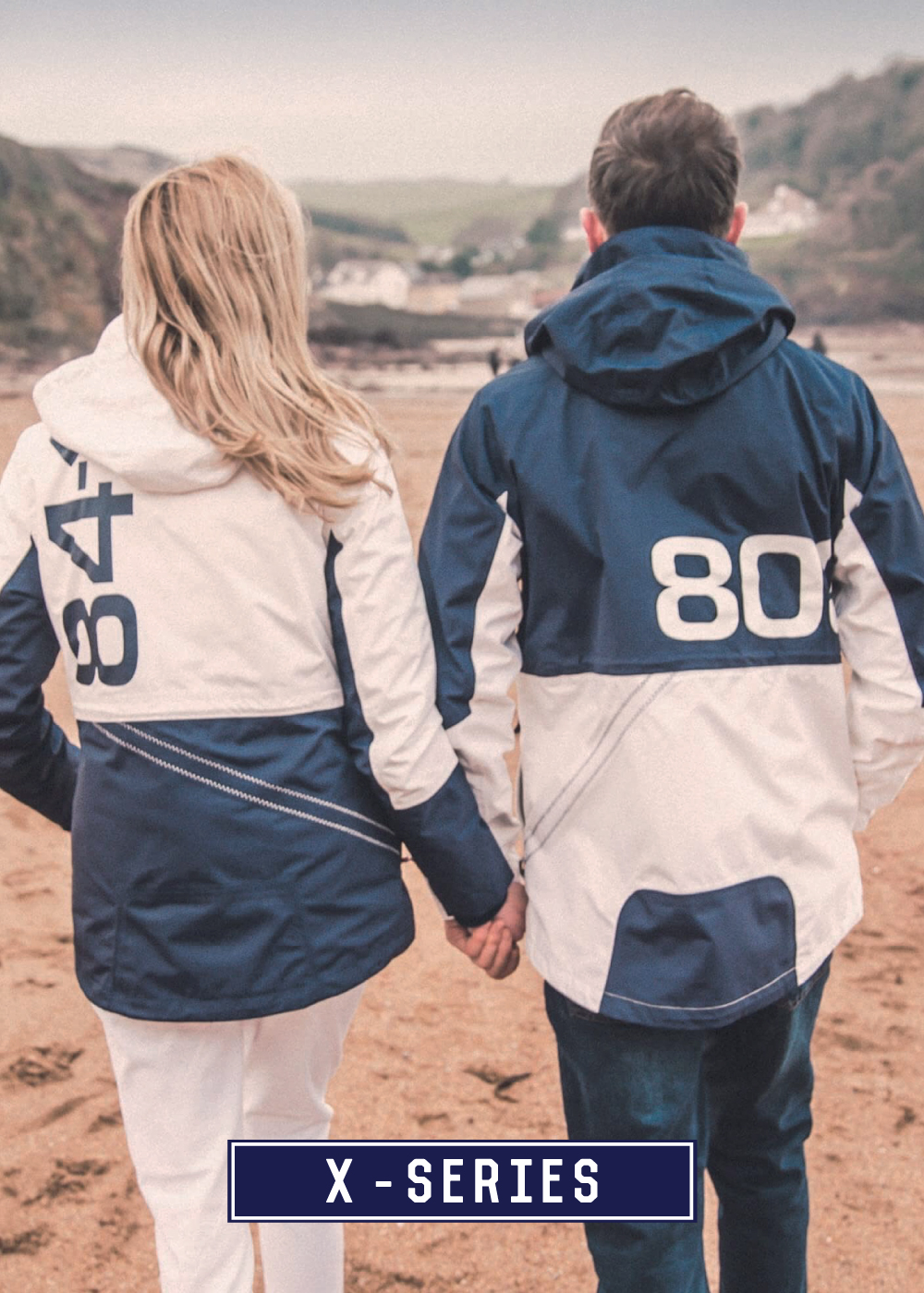 Quba & Co - Iconic X-Series Sailing Technical Jackets