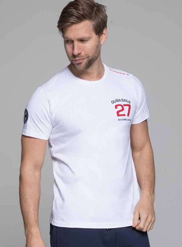 X155 Mens X-Series T-Shirt - White | Quba & Co