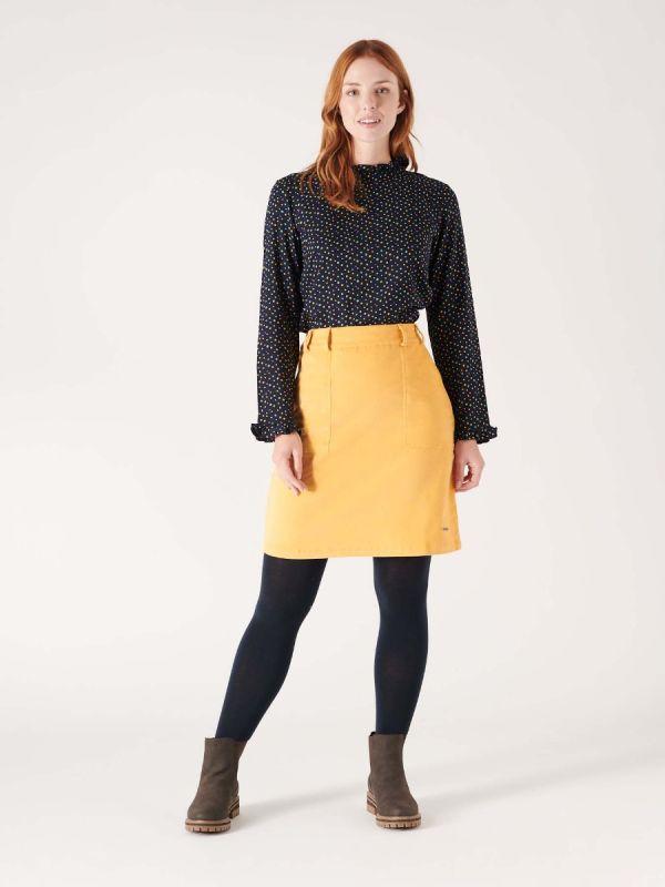 Maple Cord Skirt