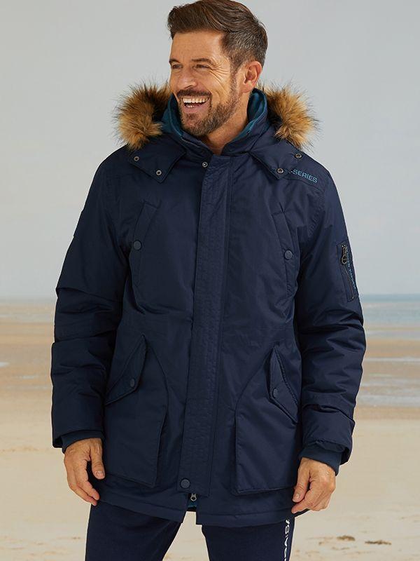 X67 X-Series Parka - Deep Navy   Quba & Co Outerwear