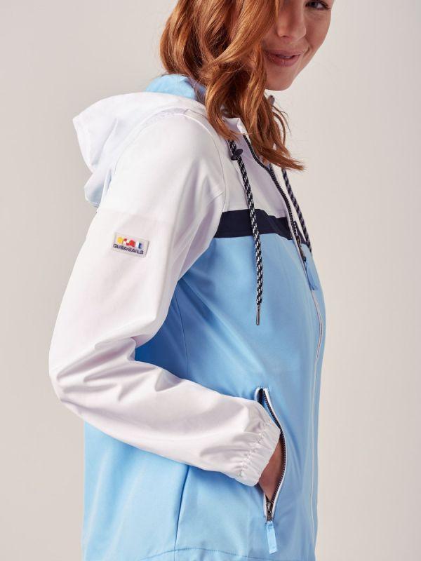 Adelina PALE BLUE X-Series Showerproof Jacket | Quba & Co