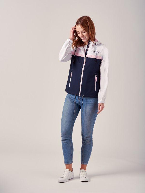 Adelina NAVY X-Series Showerproof Jacket | Quba & Co