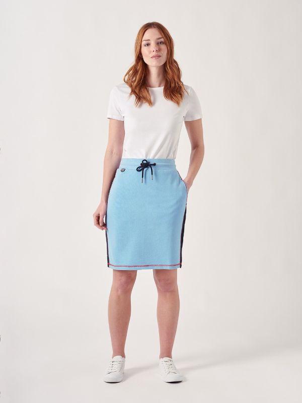 Aldra BLUE X-Series Jersey Skirt   Quba & Co