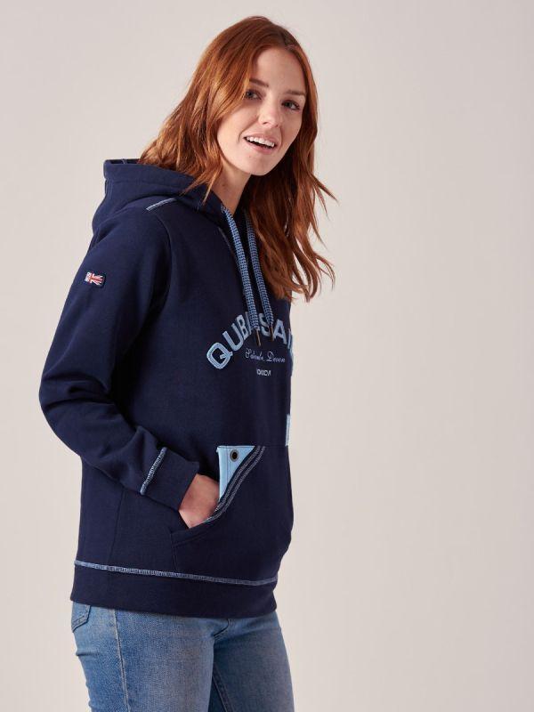 Astrid NAVY X-Series Sweatshirt   Quba & Co