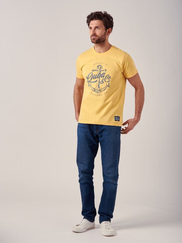 Attrap YELLOW T-Shirt   Quba & Co