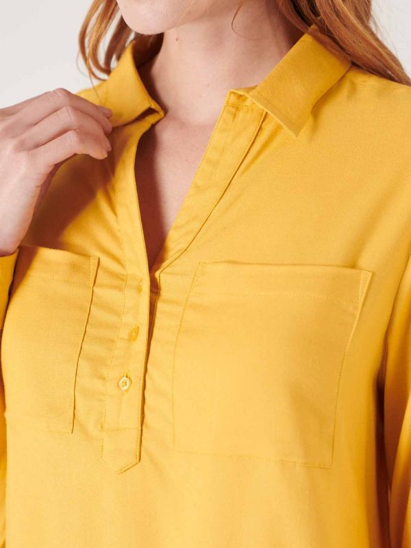 Womens yellow shirt from Quba & co nautical clothing apparel