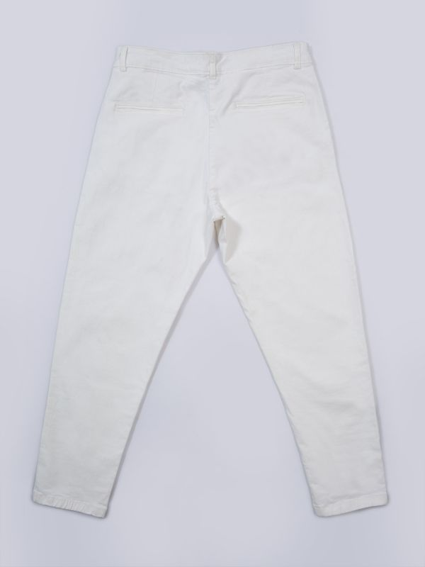 Baswood Crop Twill Trousers