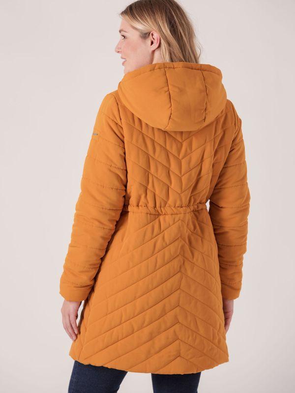 Benita Padded Jacket - Mustard Yellow