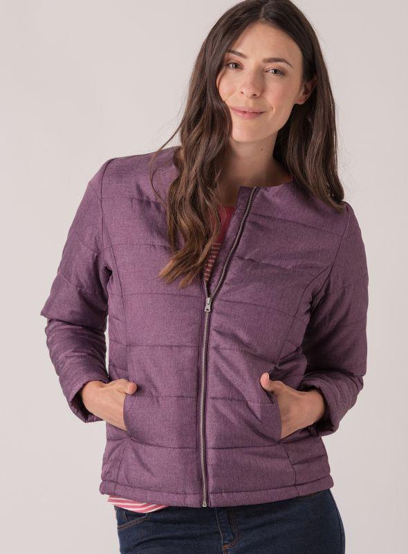 Berit Lightweight Jacket - Purple Berry