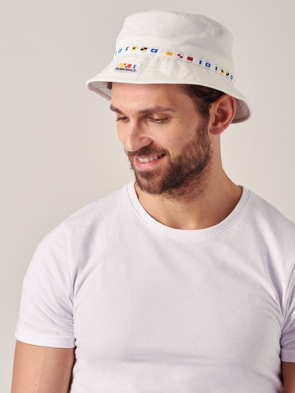 Burg WHITE X-Series Bucket Hat | Quba & Co