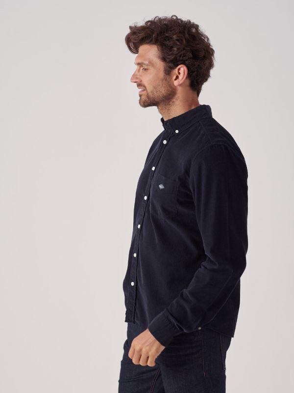 Calgory NAVY Long Sleeve Shirt | Quba & Co