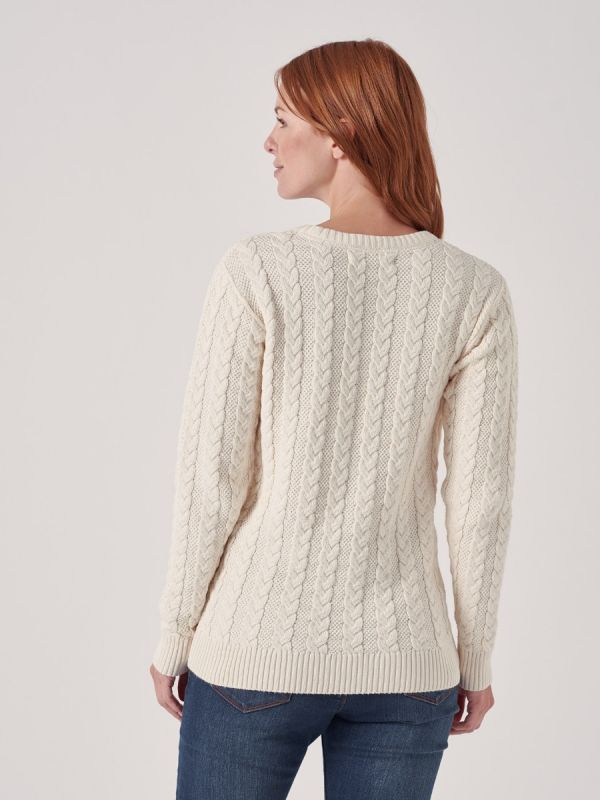 Coralie Cable Knit Jumper