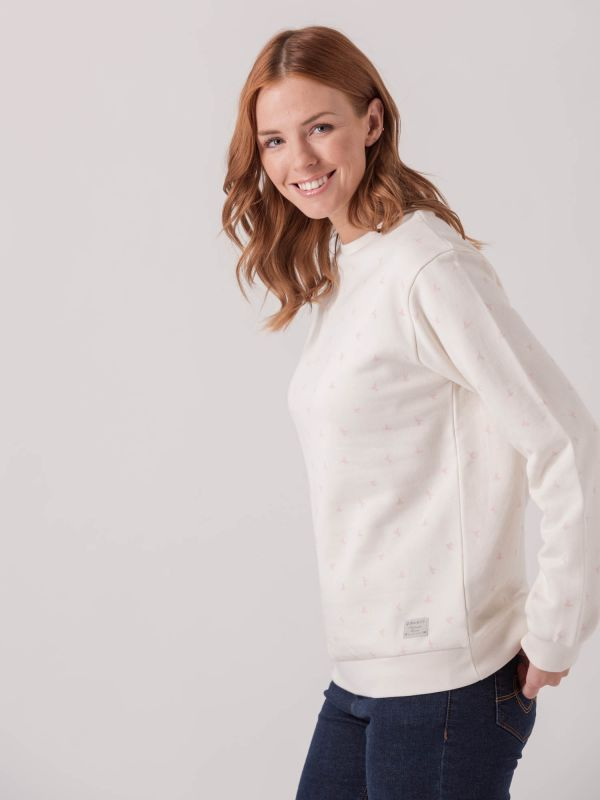Cottonwood Bird Print Sweatshirt