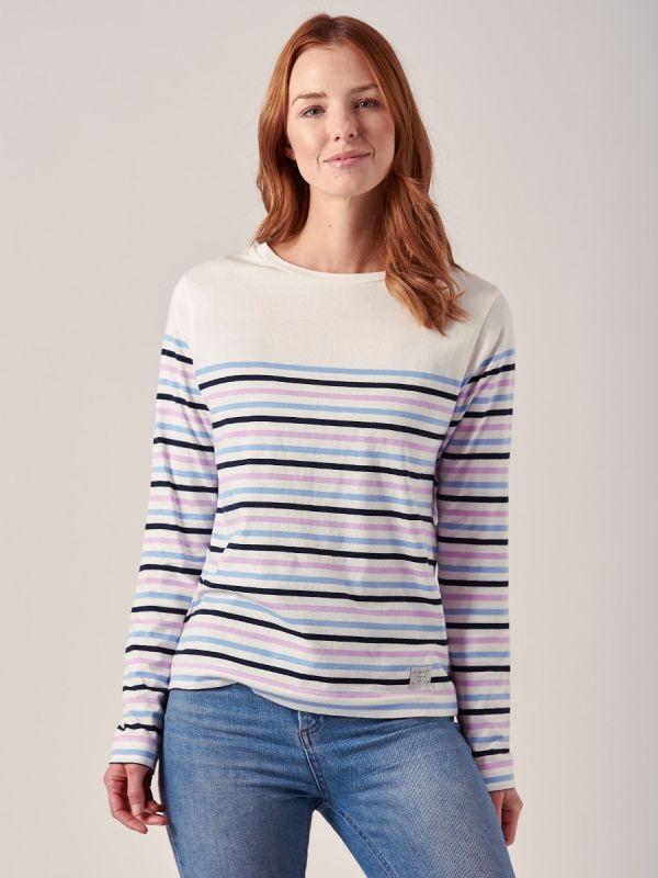 Danna PASTEL BLUE Long Sleeve T-Shirt   Quba & Co