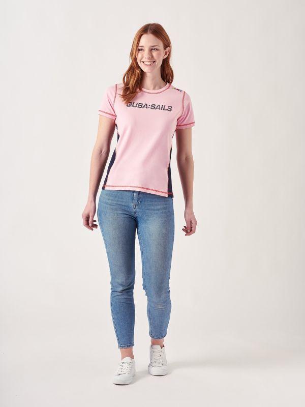 Evana PINK X-Series T-Shirt | Quba & Co