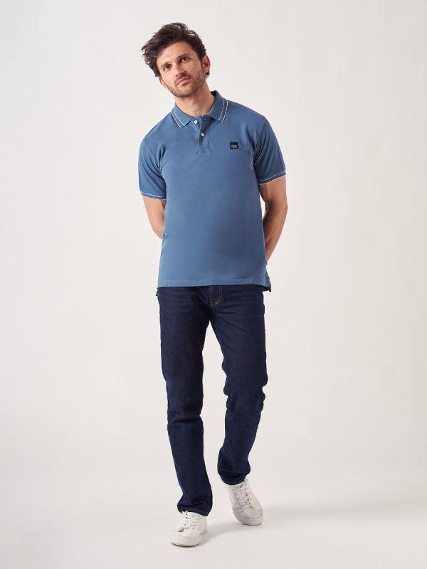 Flawless BLUE Polo Shirt   Quba & Co