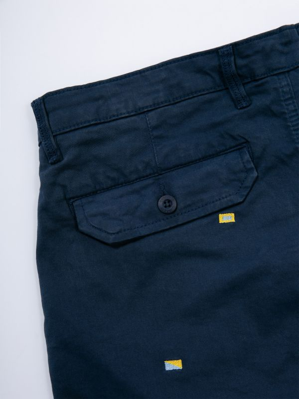 Freddy Embroidered Chino Shorts