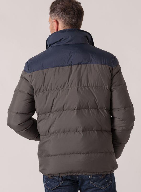 Gunner Down Padded Jacket - Beluga Grey   Quba & Co Outerwear