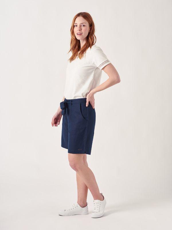 Gweneth NAVY Shorts | Quba & Co