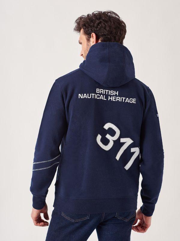 Hatcher NAVY X-Series Hoodie   Quba & Co