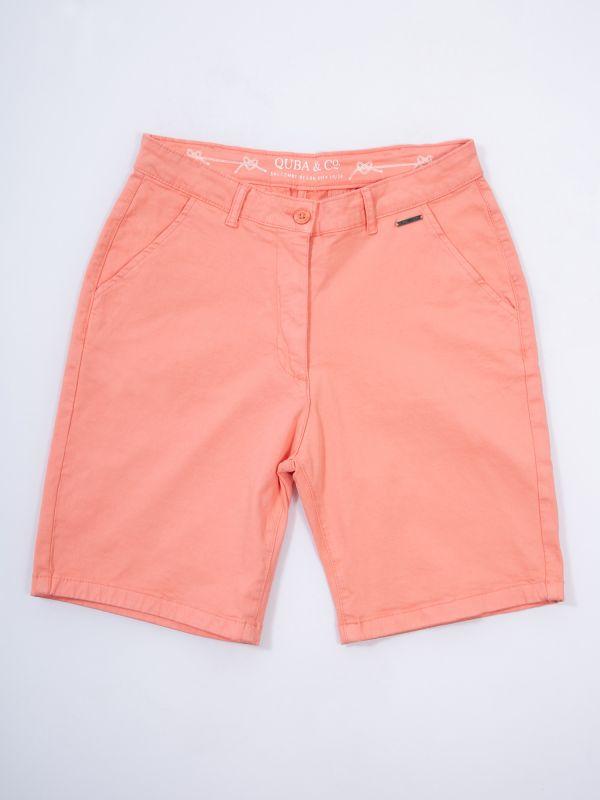Hollyhock CORAL PINK Chino Shorts | Quba & Co