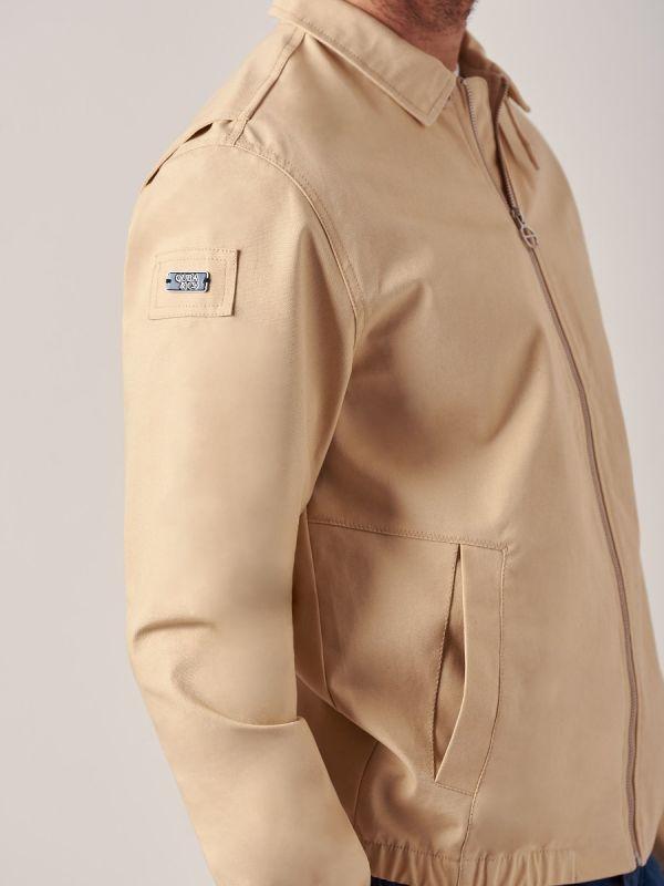 James BEIGE Lifestyle Jacket   Quba & Co
