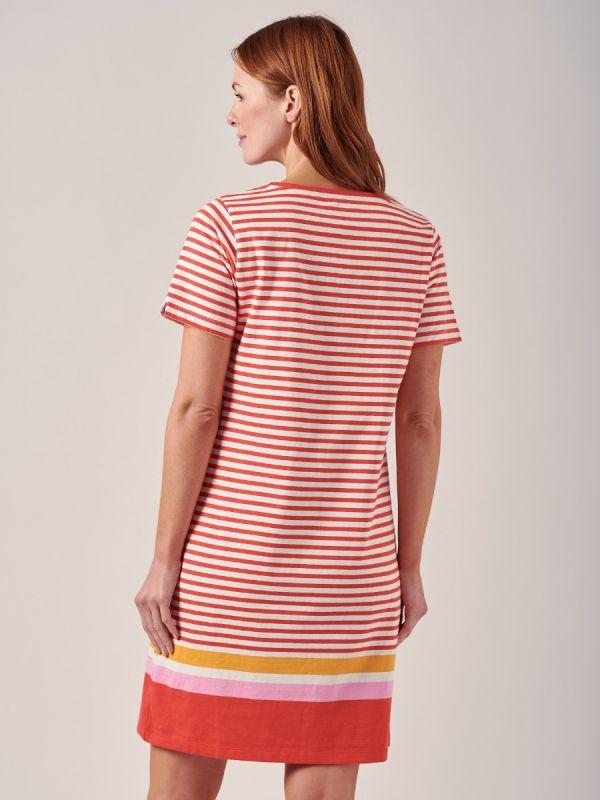Jenna ORANGE Jersey Dress | Quba & Co