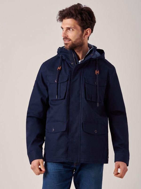 Johnson NAVY 4 Pocket Jacket | Quba & Co