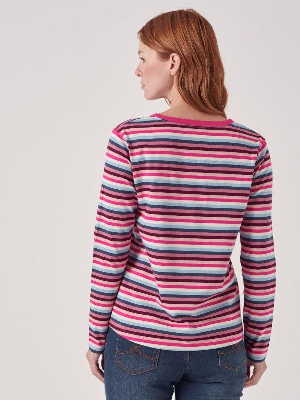 Jolie PINK Long Sleeve T-shirt | Quba & Co