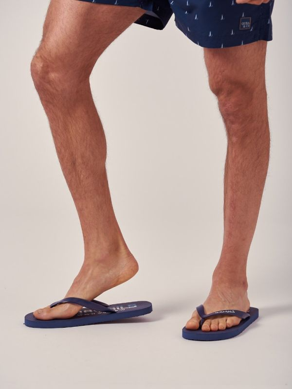 Lemigo NAVY X-Series Flip Flops   Quba & Co