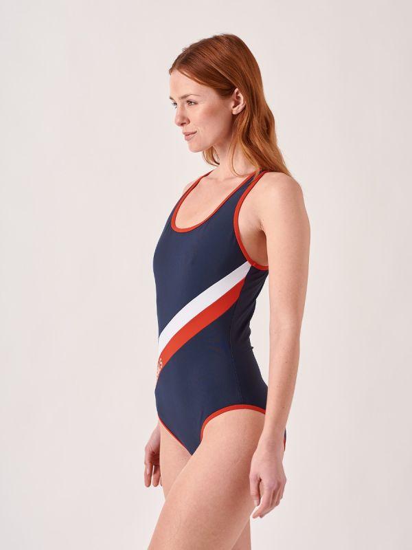 Leona NAVY X-Series Swimsuit | Quba & Co