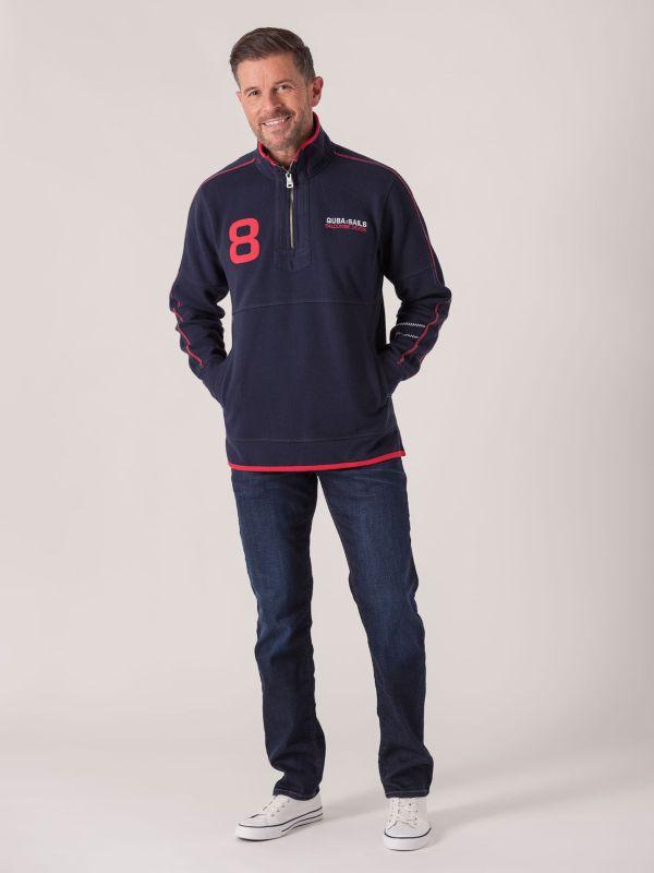 Lillehammer X-Series Sweatshirt - Deep Navy    Quba & Co Hoodies and Sweats