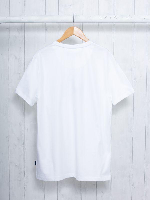 Pastow WHITE Graphic T-Shirt | Quba & Co