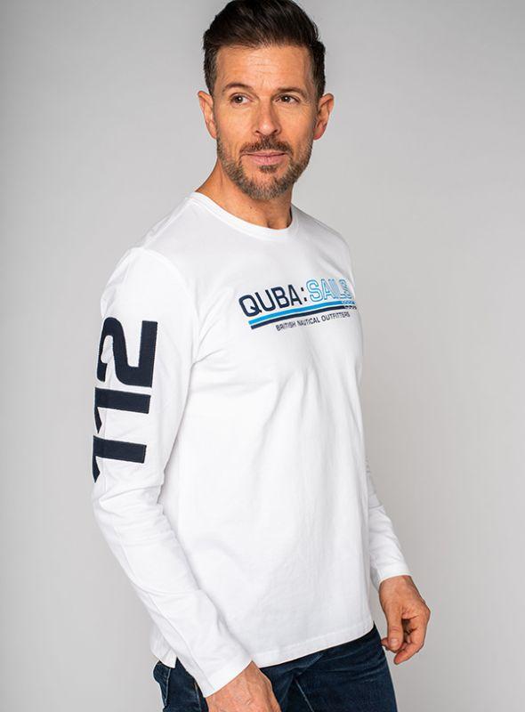 Lorient X-Series T-Shirt - White | Quba & Co