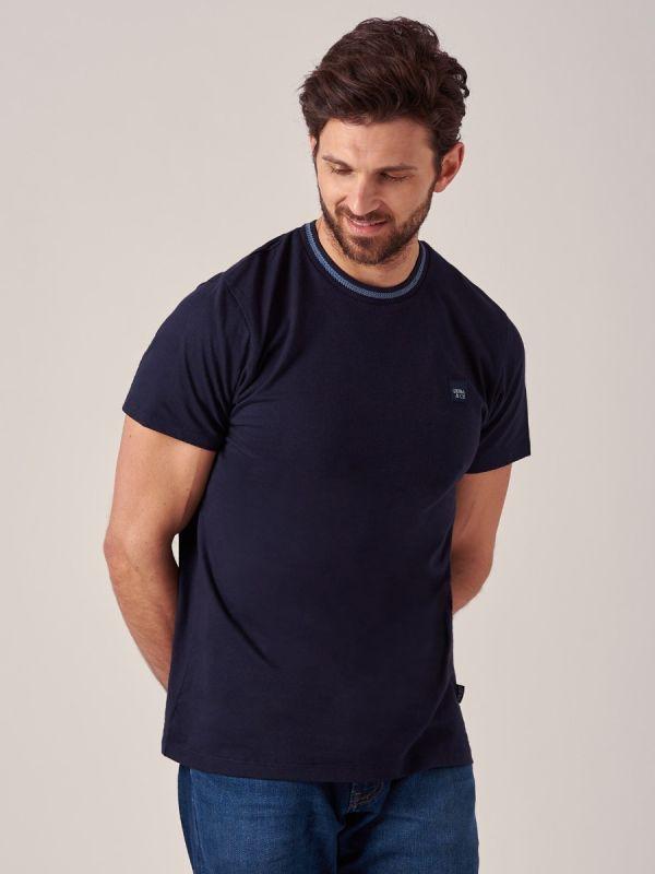 Magnum NAVY Crew Neck T-Shirt | Quba & Co