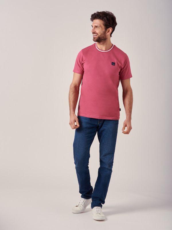 Magnum PINK Crew Neck T-Shirt | Quba & Co