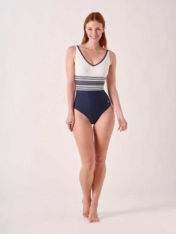 Odessa NAVY Swimsuit | Quba & Co