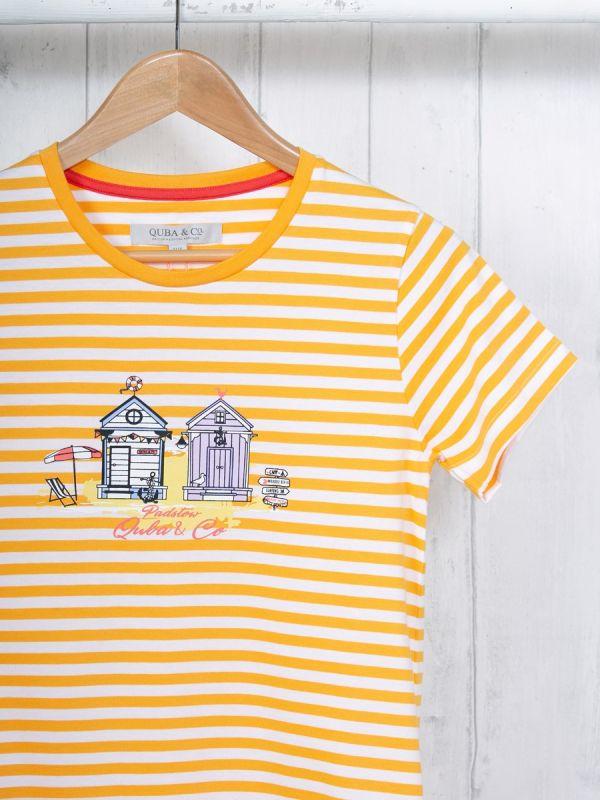 Stella ORANGE Padstow T-Shirt | Quba & Co