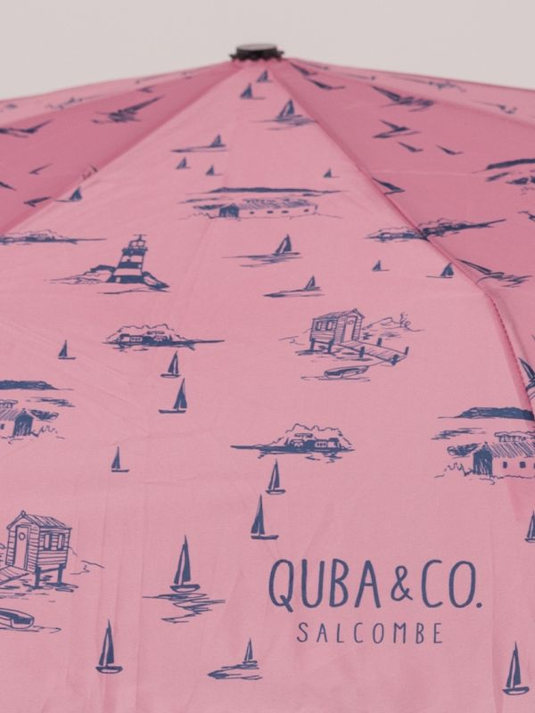 Painter Fold-Up Umbrella - Pink