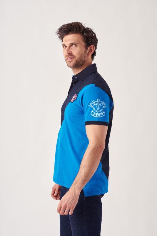 Palms NAVY X-Series Polo Shirt | Quba & Co