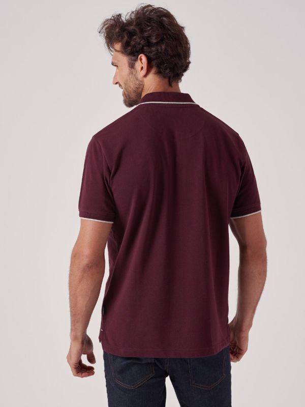 Peters PLUM Polo Shirt | Quba & Co