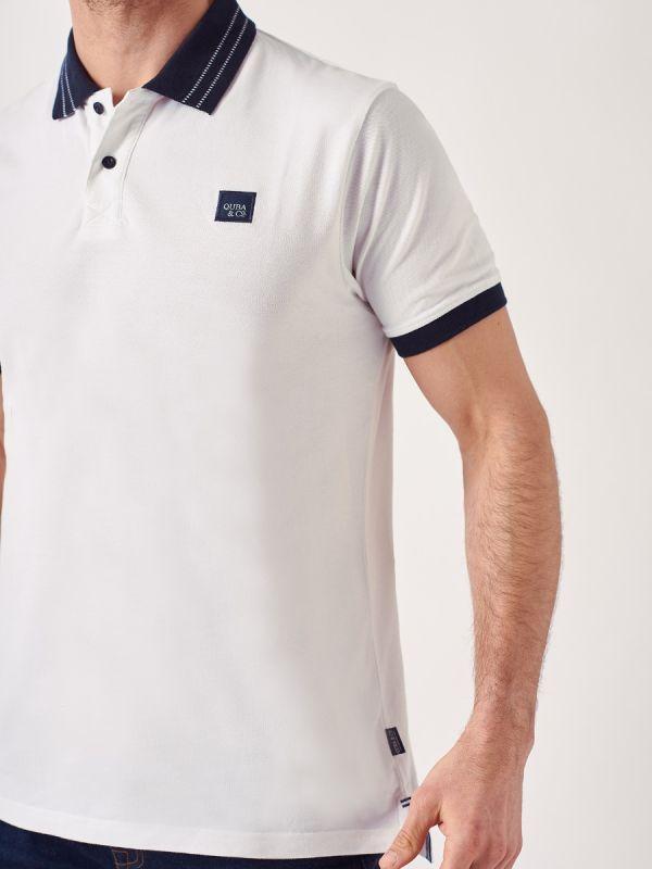 Petrus WHITE Polo Shirt | Quba & Co