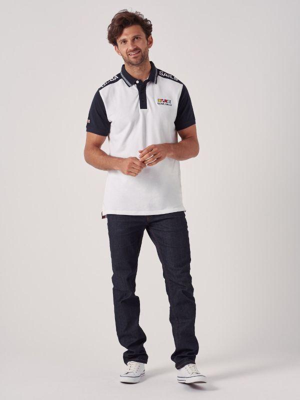 Pickering WHITE X-Series Polo Shirt | Quba & Co