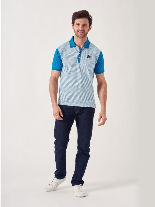 Portview WHITE Polo Shirt   Quba & Co