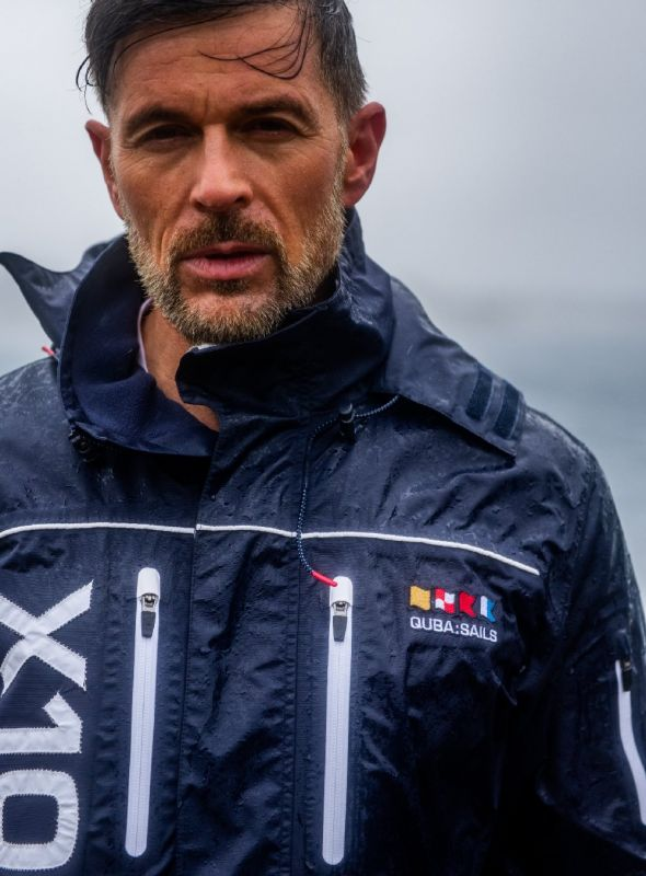 X10 Sport Mens Technical Sailing Jacket - Navy