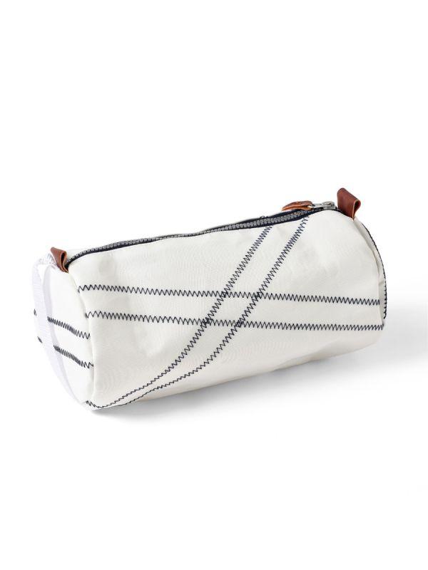 Reeve WHITE Barrel Wash Bag | Quba & Co
