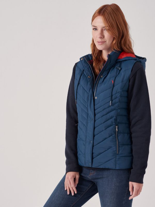 Roux Hooded Gilet
