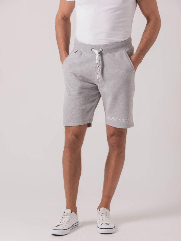 Sanson GREY X-Series Fleece Shorts | Quba & Co