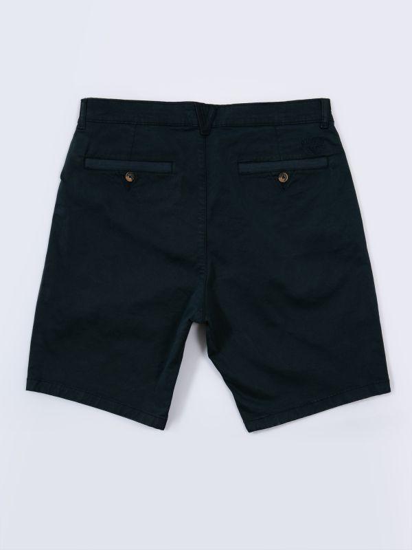 Santanna NAVY Chino Shorts | Quba & Co