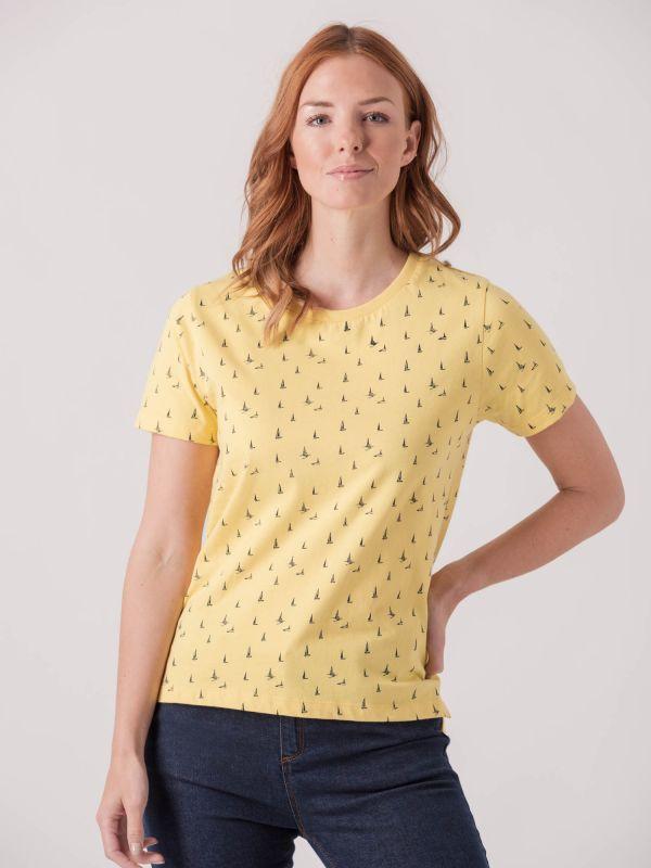 Sanvitalia Boat Print T-Shirt